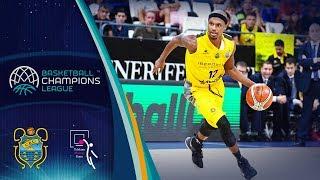 Iberostar Tenerife v Telekom Baskets Bonn - Full Game - Basketball Champions League 2018-19