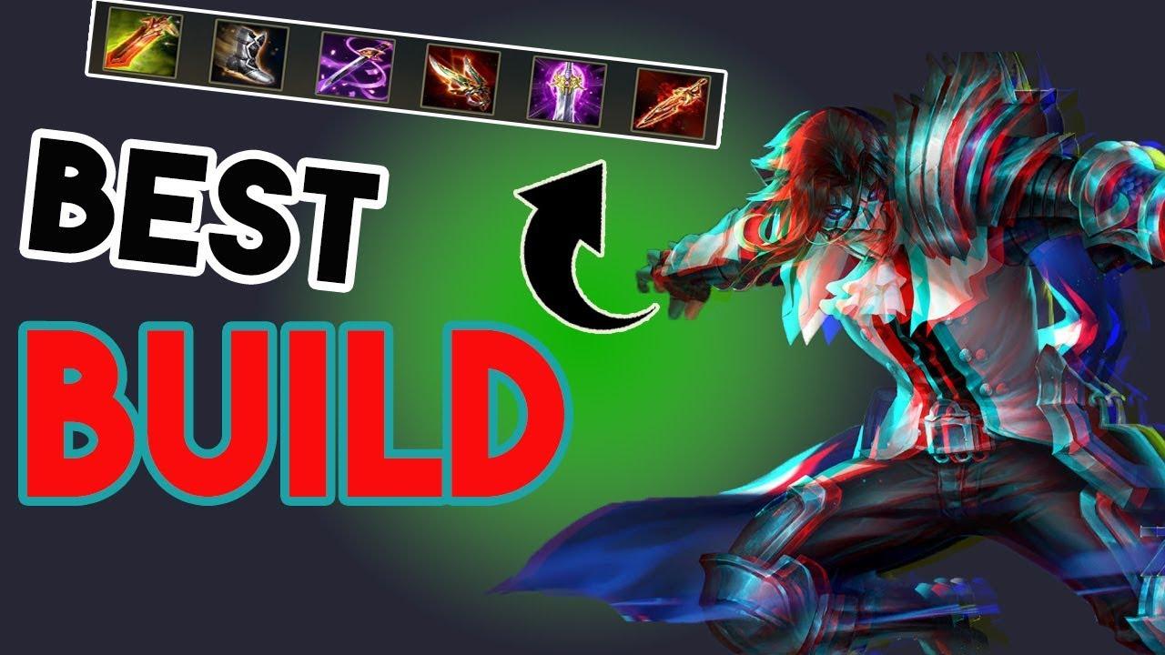 Best Build For Zanis Gameplay Guide Garena Aov