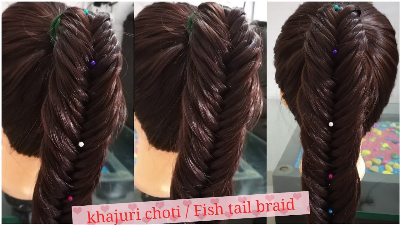 Fishtail Braid Hairstyle Khajuri Choti Avis Art