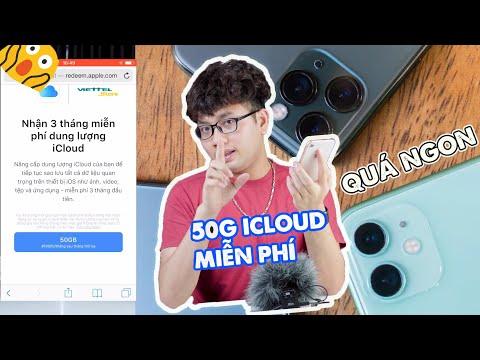 Hướng dẫn lấy FREE 50GB iCloud - Nâng cấp DUNG LƯỢNG iPhone không hề khó