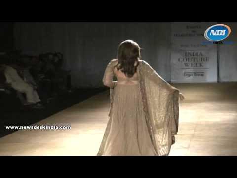 SRMJ India Couture Week 2014: Huma Qureshi on Ramp thumbnail