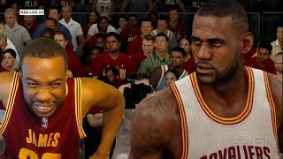 OFFICIAL NBA Live 16 Gameplay! Cavaliers Vs Warriors! New Animations And Controls!