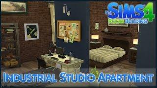 The Sims 4 Room Building - Industrial Studio Apartment