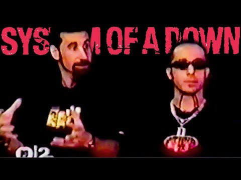 System Of A Down interview about Toxicity, songwriting, Rick Rubin, record labels (2001)