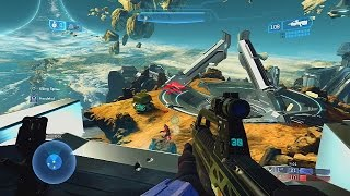 HALO Master Chief Collection GAMEPLAY - HALO 2 Anniversary Multiplayer Gameplay 1080p Xbox One