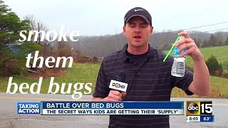 Smoking Bed Bugs to get HIGH ✔