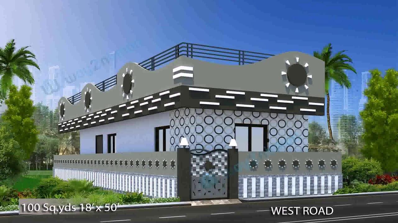 House Plan Design 20 X 50 Youtube