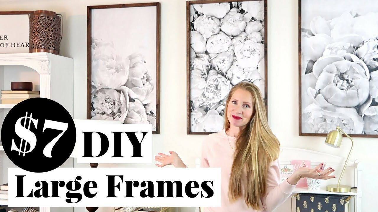 DIY Engineer Print Frame only $7 EACH! | Decorating on a Small ...