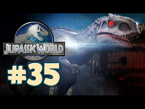 Jurassic World : The Game - Gameplay Walkthrough Part 35 - INDOMINUS REX