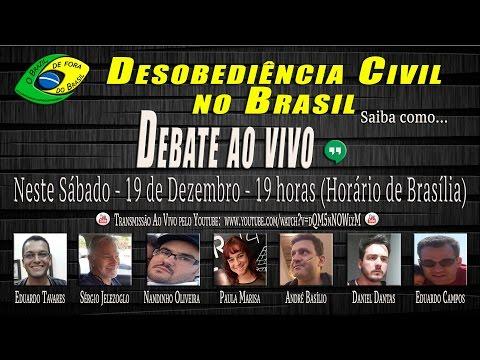 "Hangout ""Desobediência Civil no Brasil"" - O Brazil de fora do Brasil"