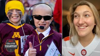 'Trevor Lawrence Girl' and Mini PJ Fleck among college football meme royalty | College GameDay
