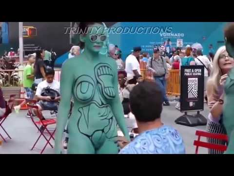 Amazing Principles Of Body Painting How To Body Painting
