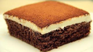 Cocoa Fudge Cake Recipe - Milk Soaked Wet Cake