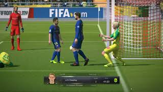 FifaOnline3 Beating Koyak Legend A 200 point ++ player 4-3,  Come back is real!
