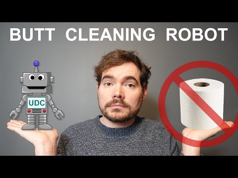 Butt Cleaning Robot - No More Toilet Paper! - Coronavirus Solution