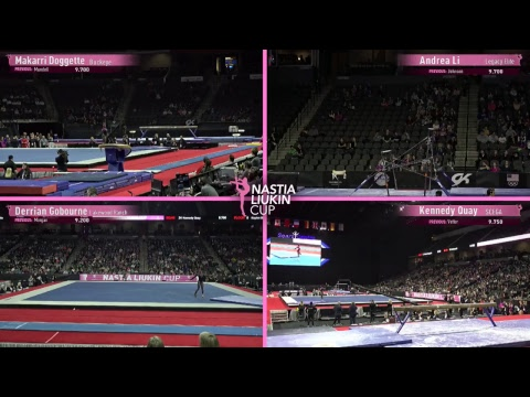 2018 Nastia Liukin Cup - International Feed