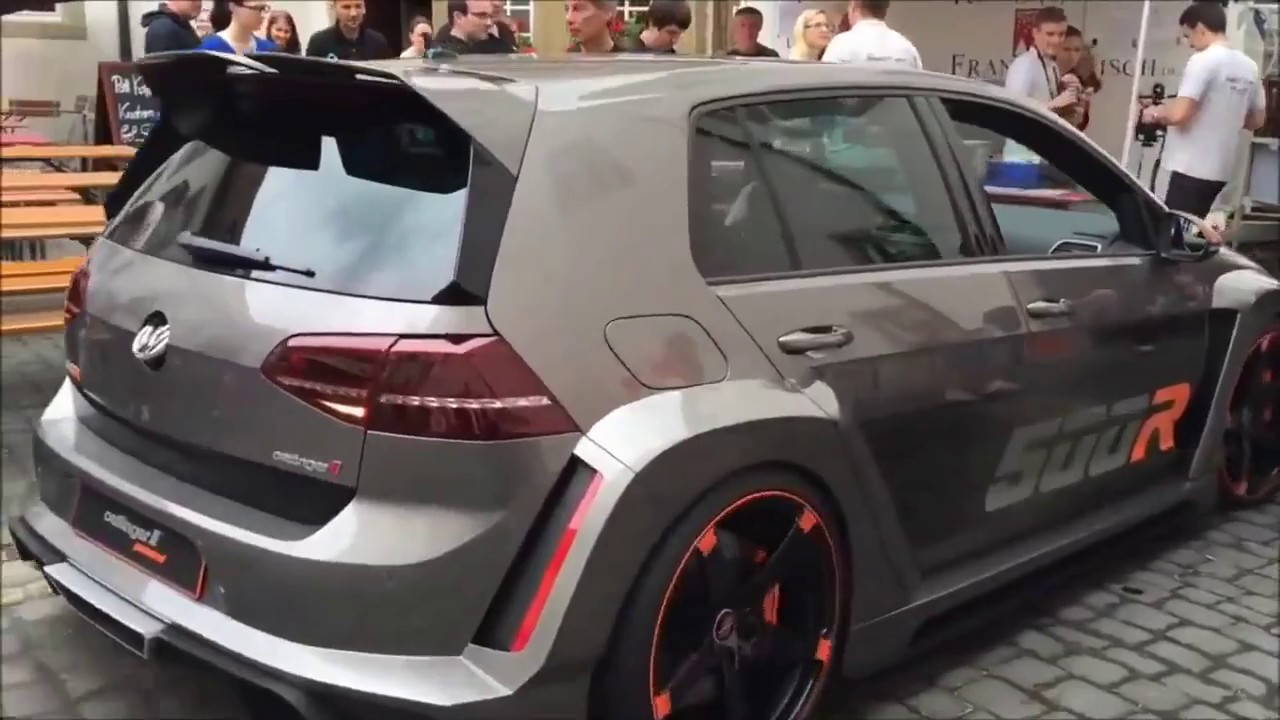 Volkswagen Golf R500 Exhaust Sound