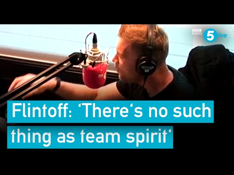 Andrew Flintoff 'There's no such thing as team spirit' - Flintoff, Savage and the Ping Pong Guy
