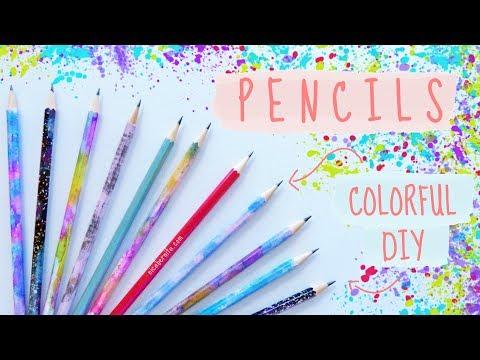 DIY PENCILS ❤ BACK TO SCHOOL CRAFTS❤ DIY SCHOOL SUPPLIES (2018)
