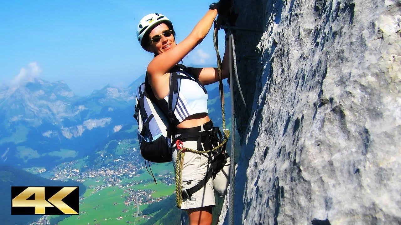 Fürenwand Klettersteig Unfall : Fürenwand klettersteig m youtube