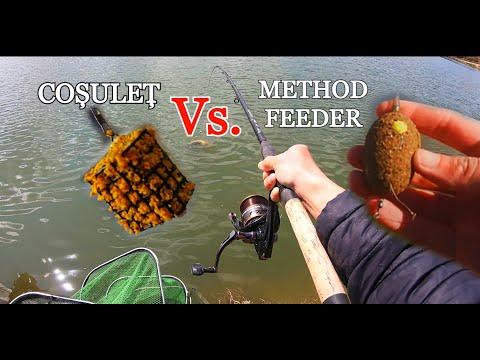 COSULET Vs. METHOD FEEDER - CARE CÂȘTIGĂ? - Pescuit în LOCAȚIE NOUĂ - Iazul Sylva, Simeria