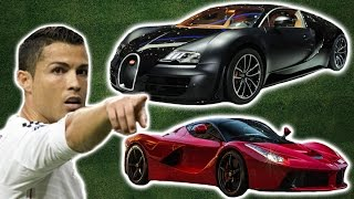 Cristiano Ronaldo's Car Collection 2016 | His Top 10 Cars
