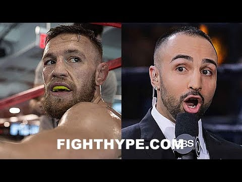 (EXPLOSIVE!!!) PAULIE MALIGNAGGI TELLS ALL ON MCGREGOR TRAINING CAMP EXPERIENCE; SHOCKING DETAILS