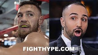 (EXPLOSIVE!!!) PAULIE MALIGNAGGI TELLS ALL ON MCGREGOR TRAINING CAMP EXPERIENCE; SHOCKING DETAILS thumbnail