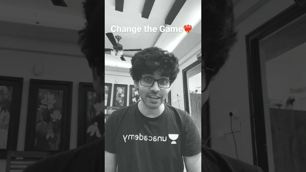 IIT JEE 2021 Aspirants- Change the Game ❤️🔥 | | Unacademy JEE | Namo Kaul #Shorts