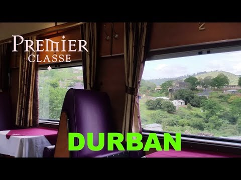 South Africa's GREAT VALUE FIRST CLASS TRAIN: Premier Classe to Durban