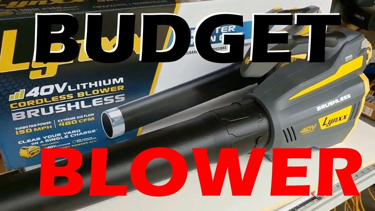 Lynxx 40v cordless brushless blower harbor freight 63284 for Harbor freight blower motor