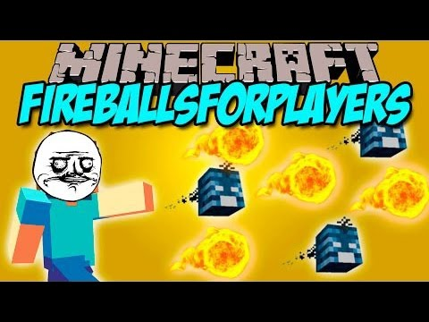 ALEV TOPU ATMAK !! - Minecraft Mod Tanıtımları #45