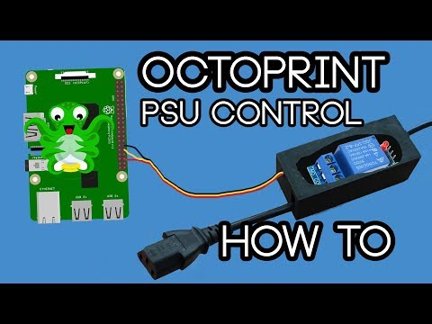 How to turn your 3D printer on/off using Octoprint - YouTube