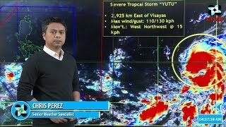 Public Weather Forecast Issued at 5:00 AM October 23, 2018