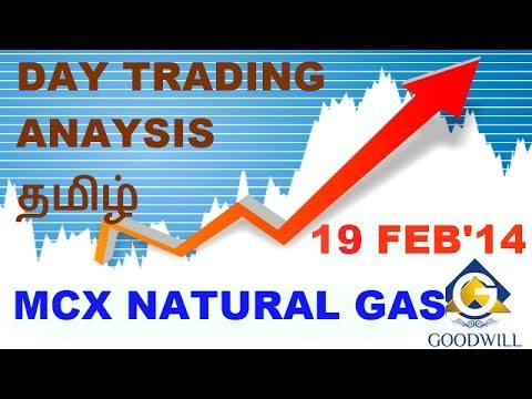 MCX NATURAL GAS TRADING ANALYSIS FEB 19 தமிழ்  CHENNAI TAMIL NADU INDIA