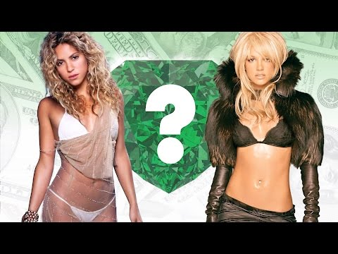 WHO'S RICHER? - Shakira or Britney...