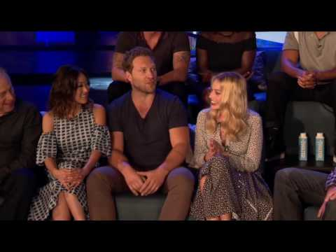Suicide Squad   full Press Conference (2016) Jared Leto Margot Robbie Will Smith