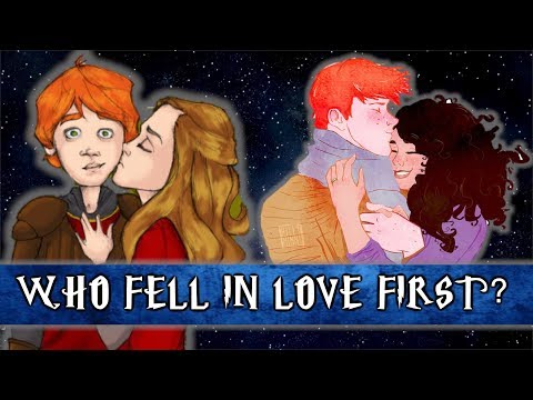 Who Fell In Love First? Ron Or Hermione?