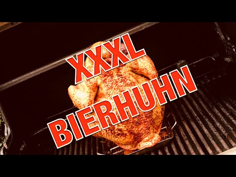 5kg XXL Bierhuhn - BEER CAN CHICKEN vom GASGRILL - Neue Location —- Klaus grilt
