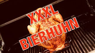 5kg XXL Bierhuhn - BEER CAN CHICKEN vom GASGRILL - Neue Location -- Klaus grilt