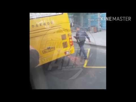 Владивосток. Маршрутный автобус который ездит на ракетном топливе.