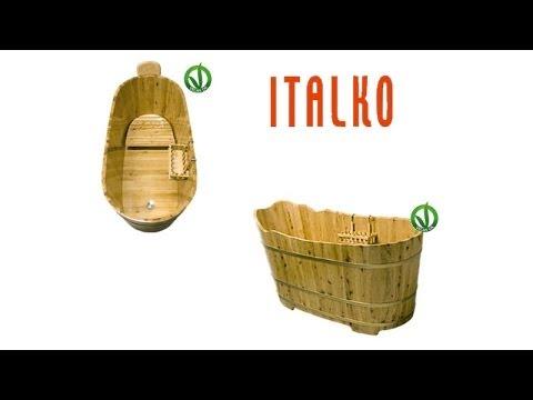 Italko vasche da bagno in legno di ginepro orientale - Vasche da bagno in legno prezzi ...