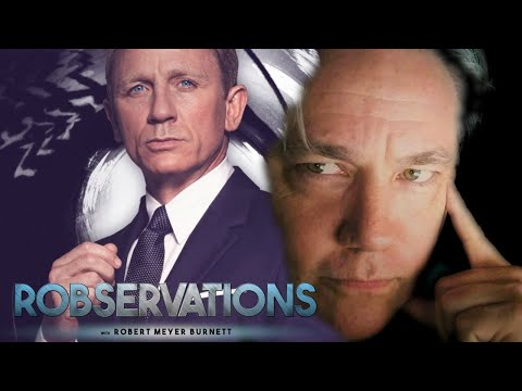 WHATS NEXT FOR JAMES BOND, 007? ROBSERVATIONS Live Chat #199