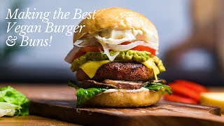 The Best High Protein Vegan Burgers  23g per burger