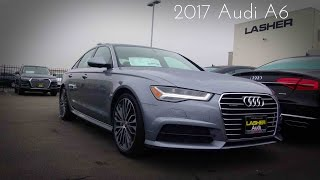 2017 Audi A6 S-Line 2.0 L Turbocharged 4-Cylinder Review