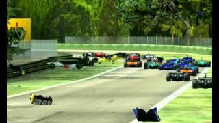 F1 Challenge '99-'02 - Crash Compilation