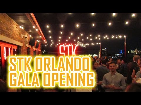 STK Orlando Grand Opening Gala from Disney Springs
