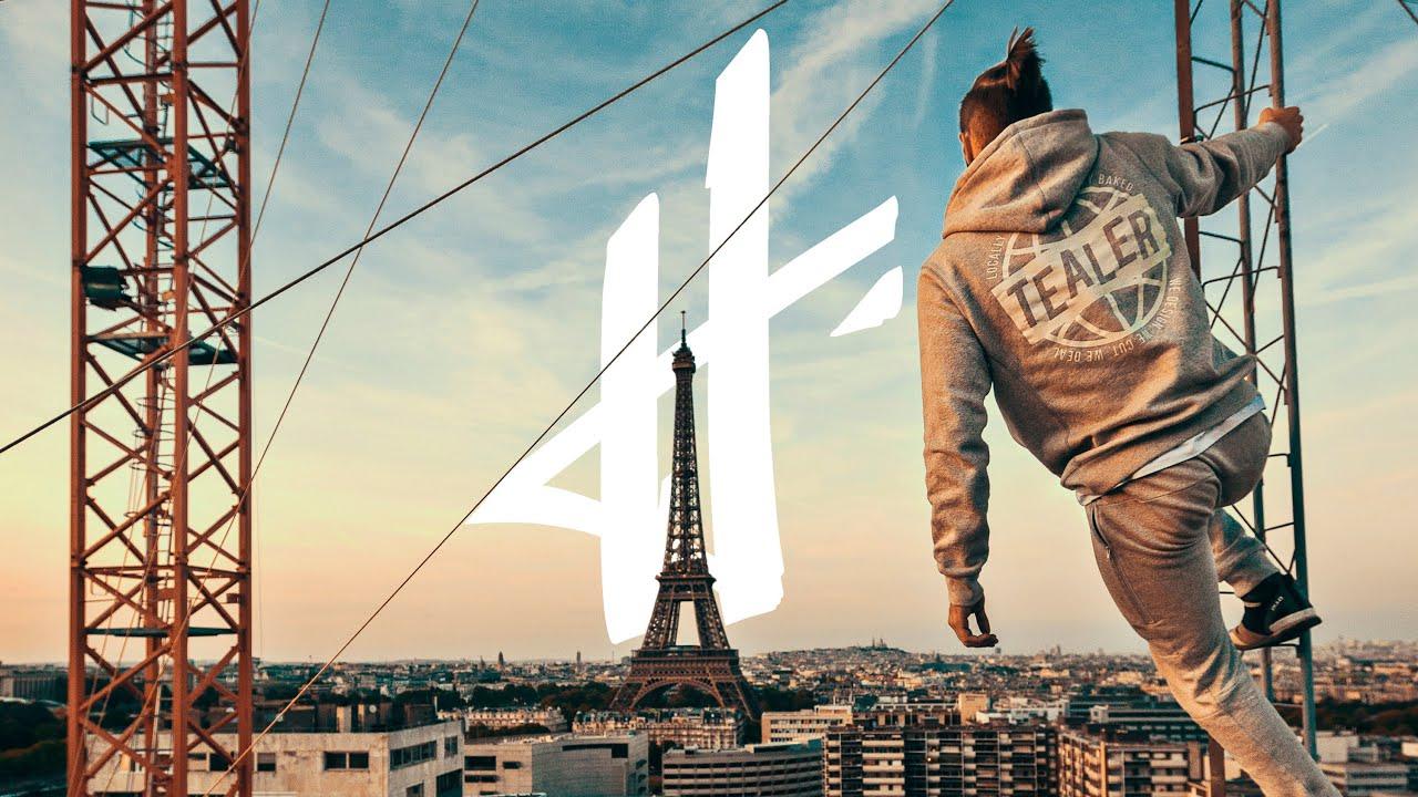 We run Paris - Hit the Road x Tealer