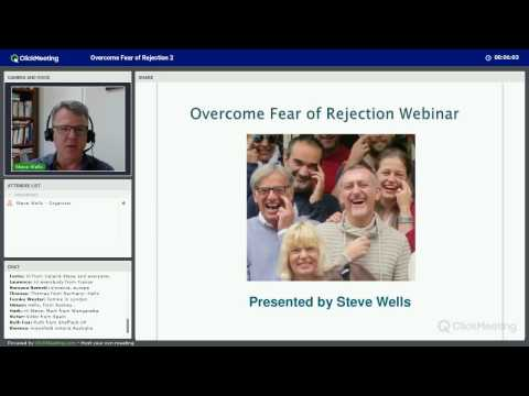 Overcome Fear of Rejection Webinar Group 2