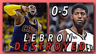 5 Great NBA Teams LeBron Completely Ruined